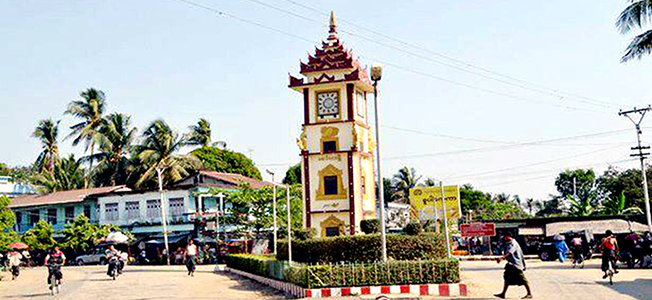 Maungdaw Clock tower junction